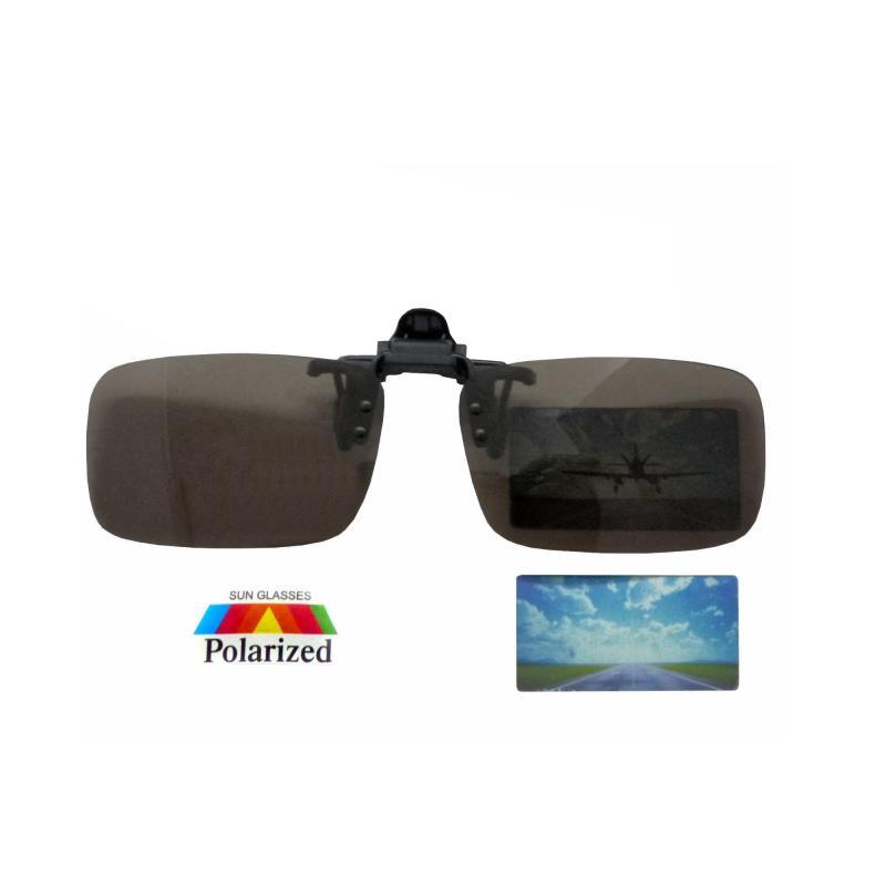 Polarisierte Brille-Aufsatz Clip-on