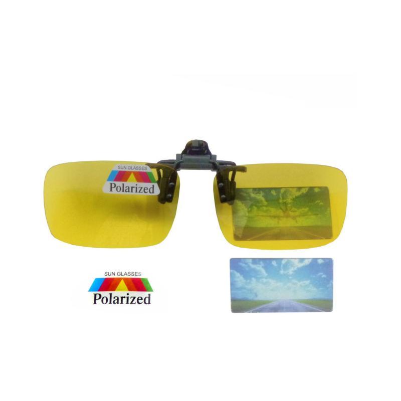 Polarisierte Brille-Aufsatz Clip-on Kontrast Überbrille