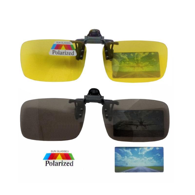 Polarisierte Brille-Aufsätze Clip-on
