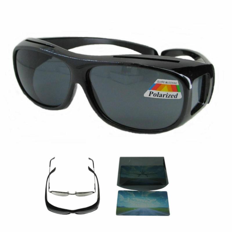 Polarisierte Überbrille für Brillenträger